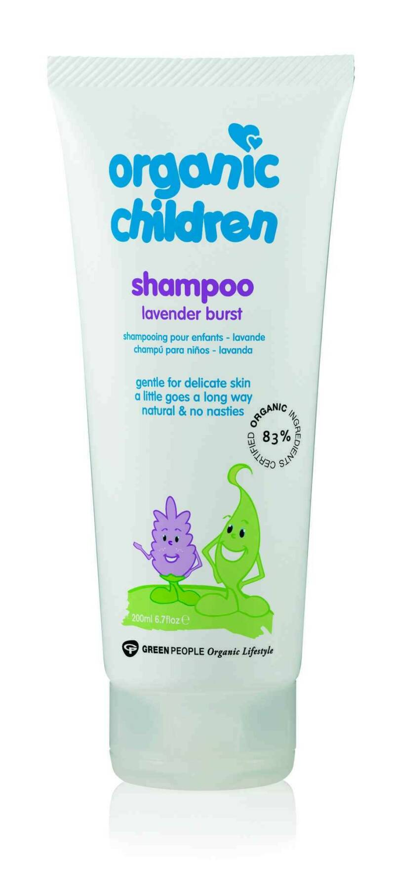 Green People Organic Children Shampoo Lavender Burst 200ml