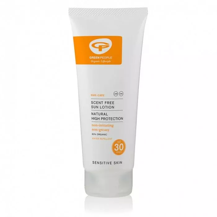 Green People Sun Lotion Scent- Free zonder parfum SPF 30
