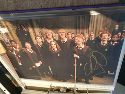 Signed Autographic: Chris Rankin - Percey Weasley
