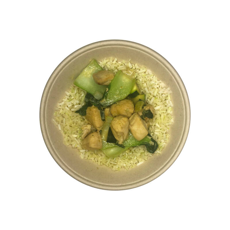 WHITE CABBAGE GREEN CURRY - Chicken / Vega (LOW CARB)