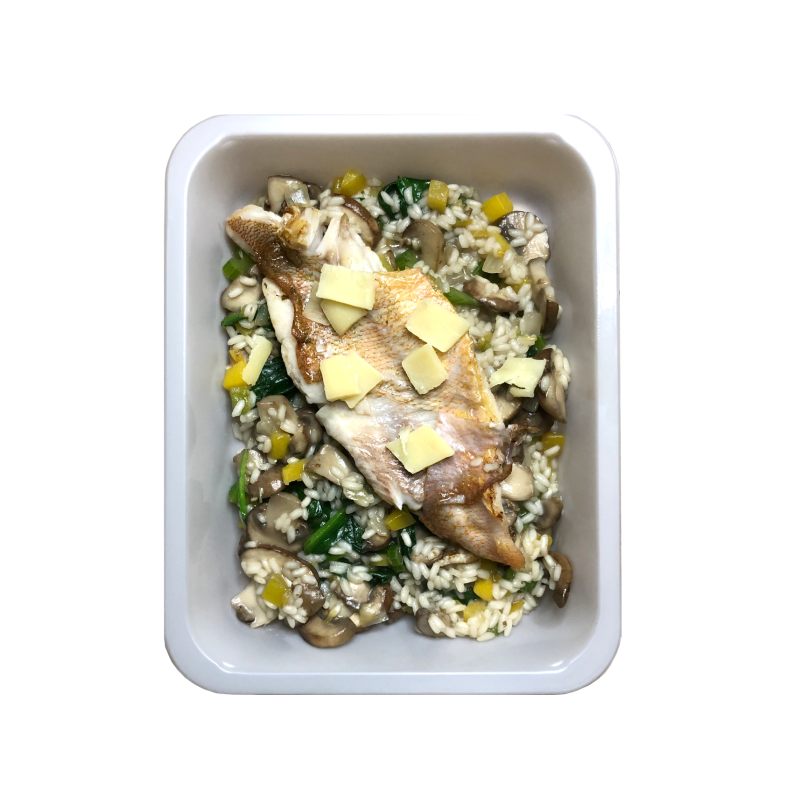 RISOTTO // Rockfish or Vegan - Low Carb