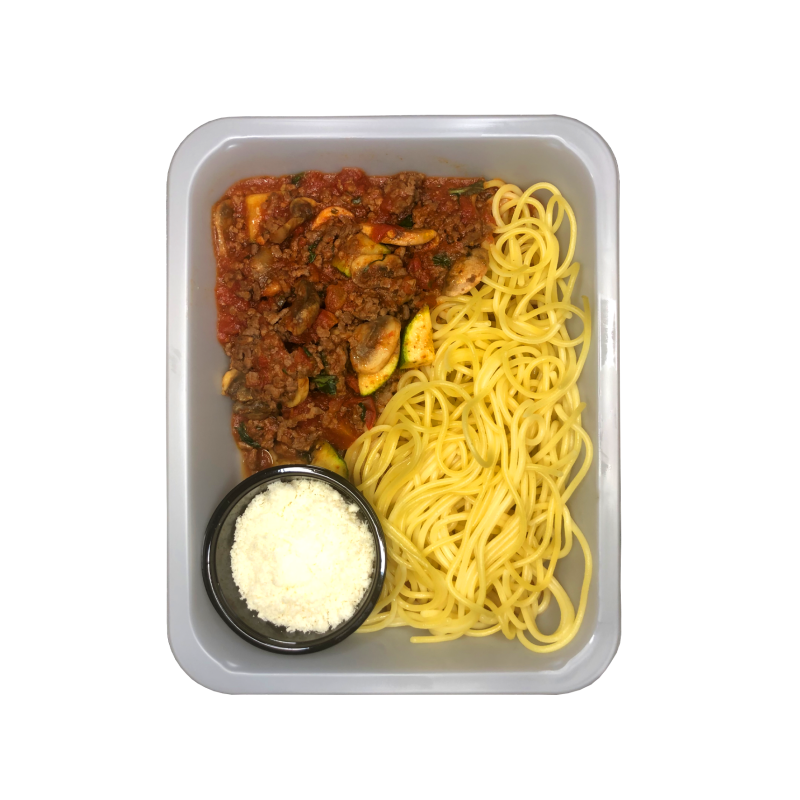 PASTA BOLOGNESE // Beef or Vega - High Carb