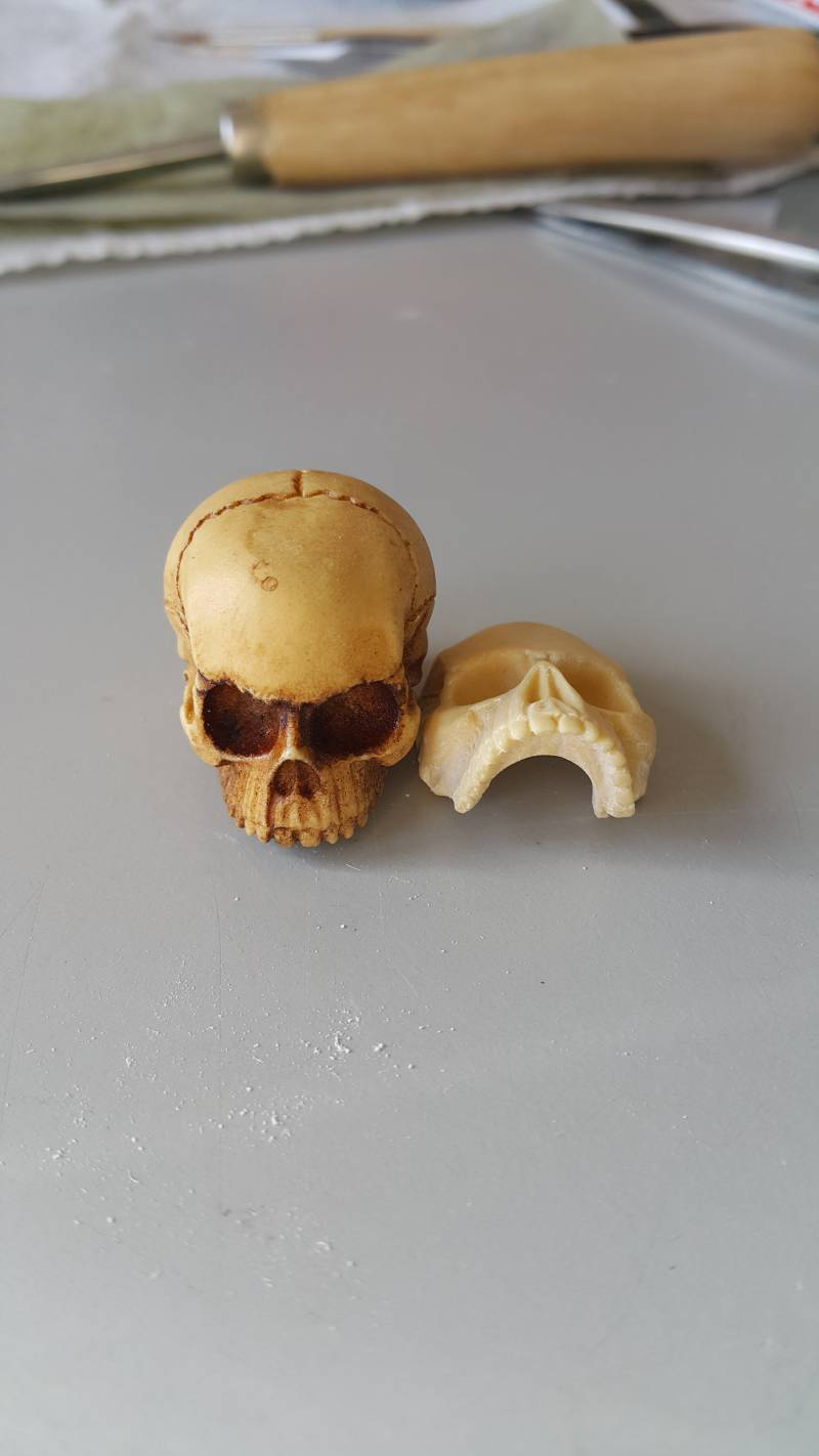 Progress Skull Ring