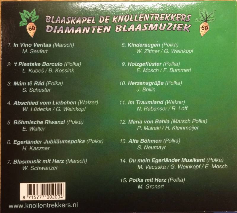 CD Diamanten Blaasmuziek