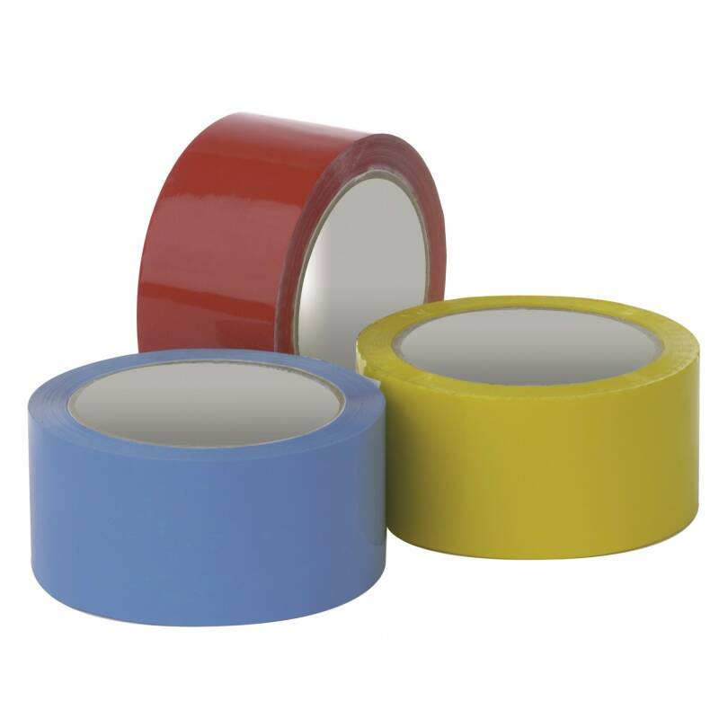 Coloured Tape 48mm x 66mtrs.