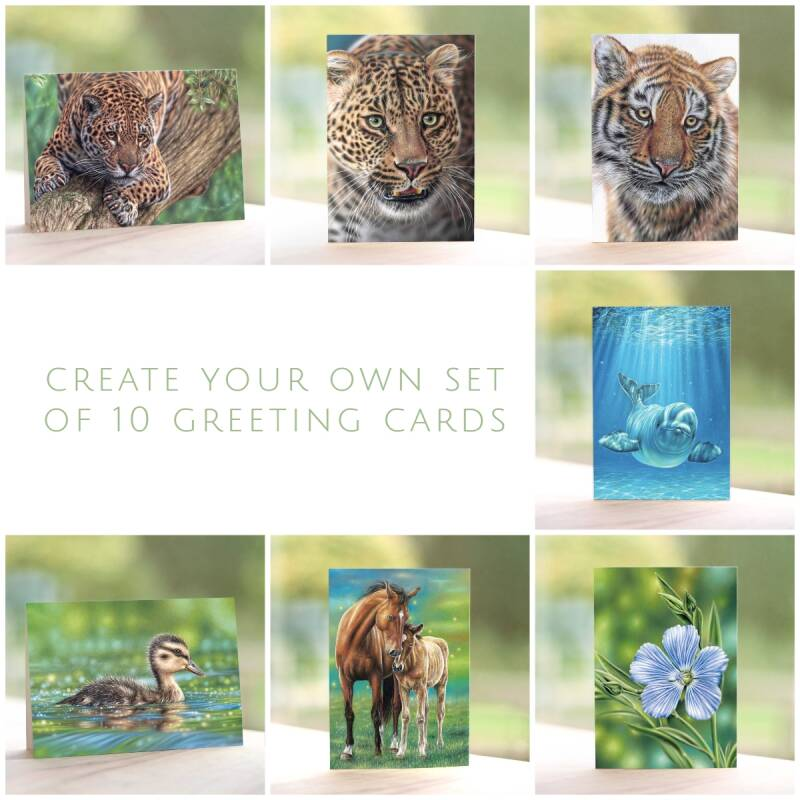 Create your own set   10 Greeting Cards