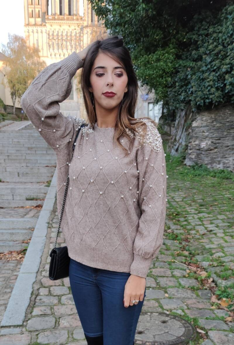 Pull Parel Taupe