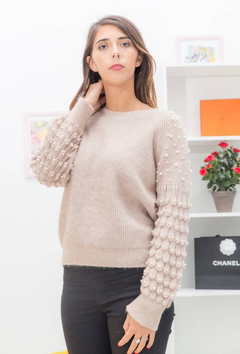 Pull Parel Taupe 2