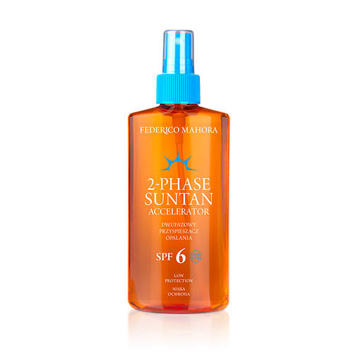 2-PHASE SUNTAN ACCELERATOR SPF 6 LOW PROTECTION