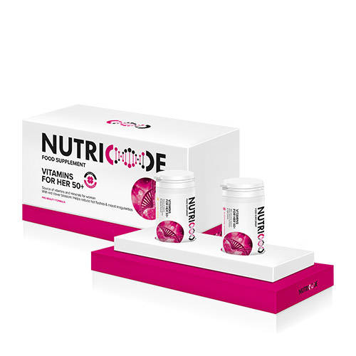 Nutricode Vitamins for her 50+