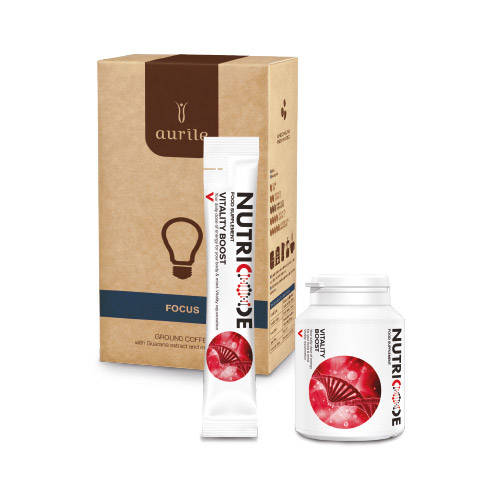 Vitality Boost System + FOCUS Ground Coffee 250 g