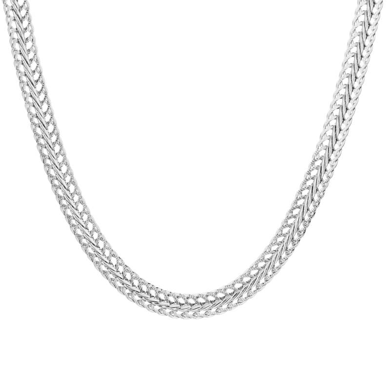Chunky chain ketting - zilver
