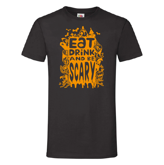 Halloween t-shirts | Eat, drink & be Scary