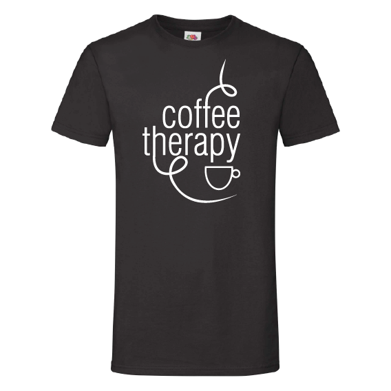 Koffie t-shirts | Coffee therapy