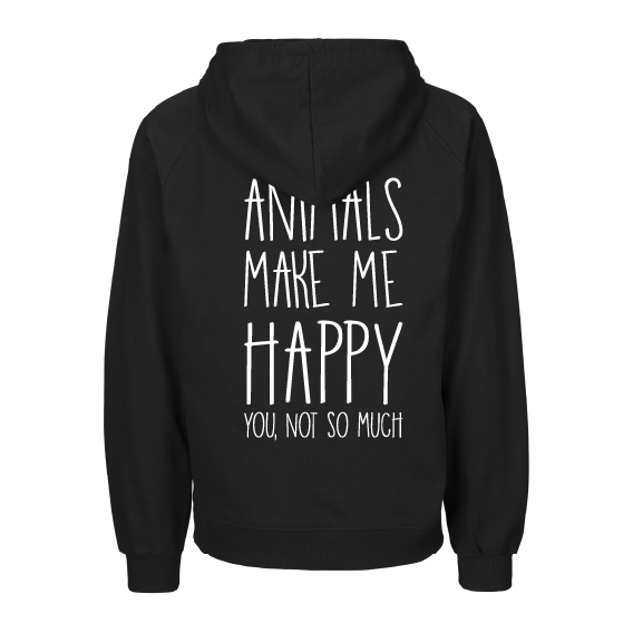 Hoodies | Animals make me happy