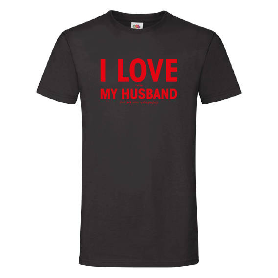Valentijn t-shirt | I love my husband