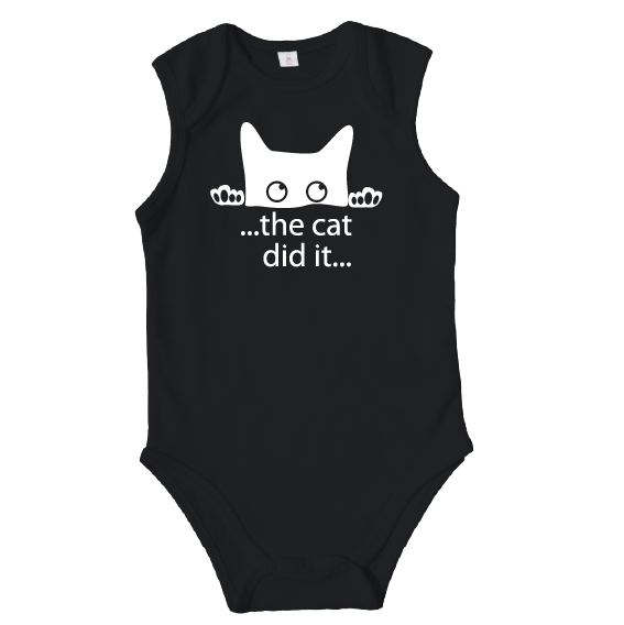 Rompers | The cat did it