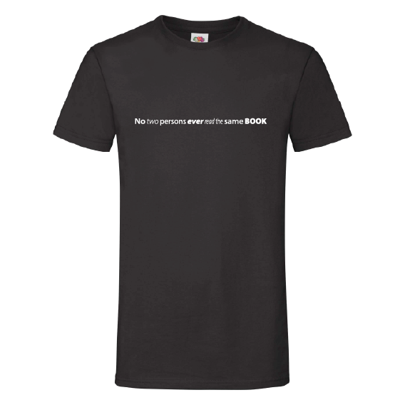 Boeken t-shirts | Read the same book