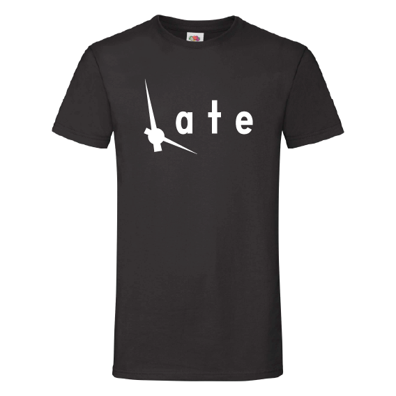 Woorden t-shirts | Late