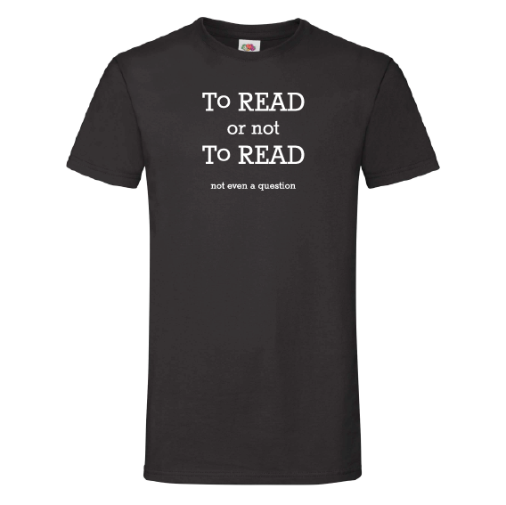 Boeken t-shirts | To read or not to read