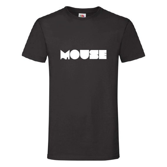 Woorden t-shirts   Mouse