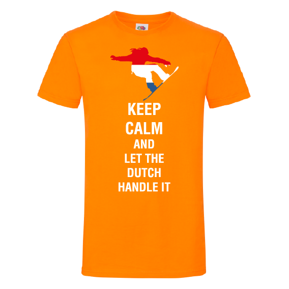 Oranje t-shirts | Keep Calm