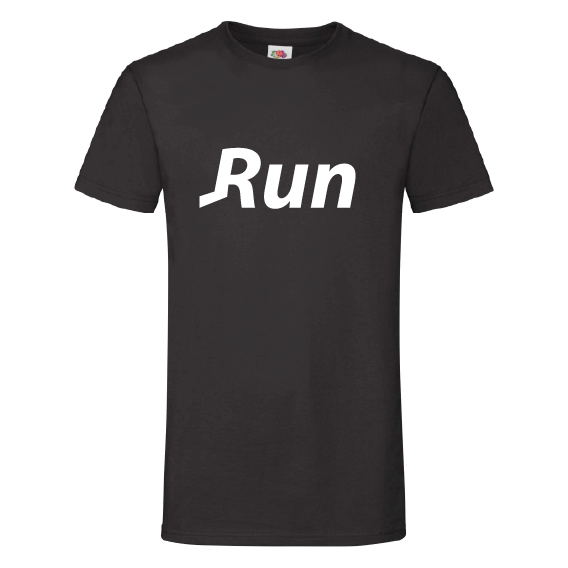 Woorden t-shirts | Run