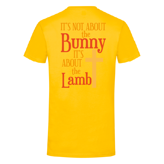 Paasshirts | It's not about the bunny