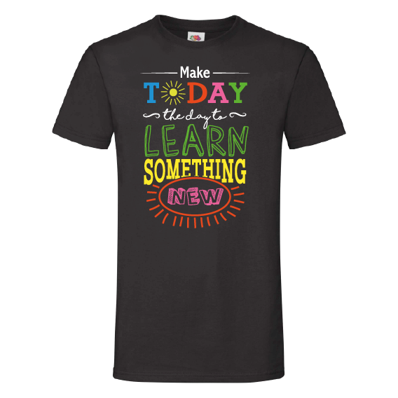 School t-shirts | Learn something new today