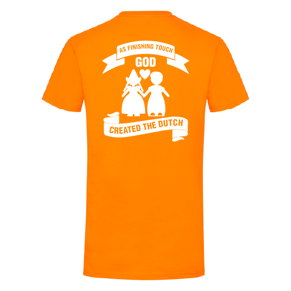 Oranje t-shirts | Finishing Touch