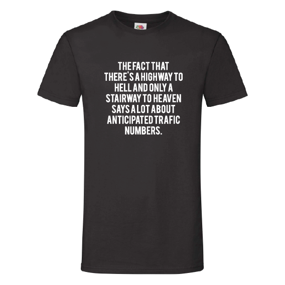 Humor t-shirts   Highway to hell