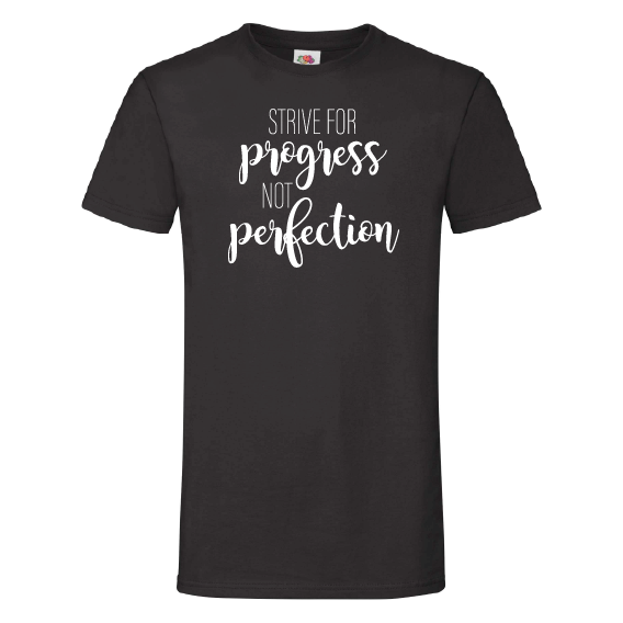 School t-shirts | Progress and perfection