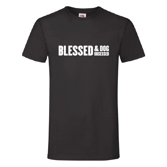 Honden t-shirts | Blessed & dog obsessed