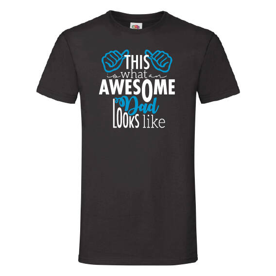 Vaderdag t-shirts | Awesome dad