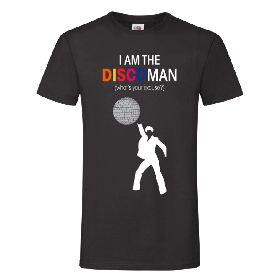 Muziek t-shirts | I am the disco man