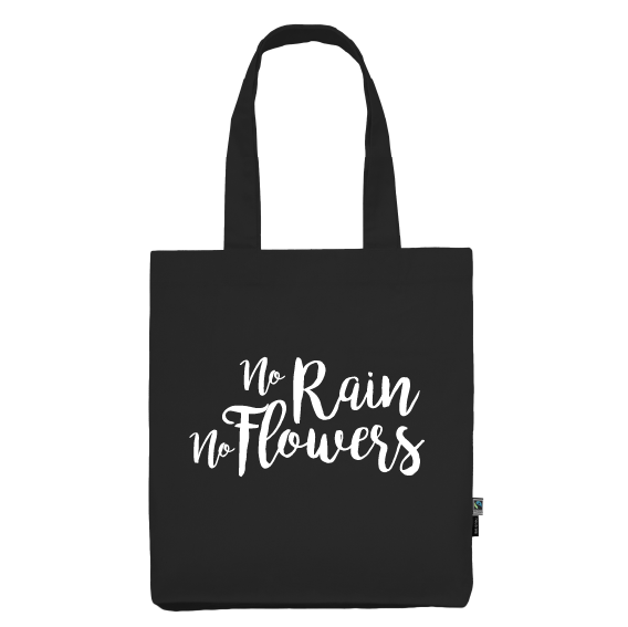 Totebag | No rain no flowers