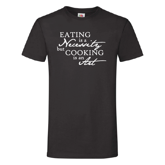 Food t-shirts | Cooking is an art