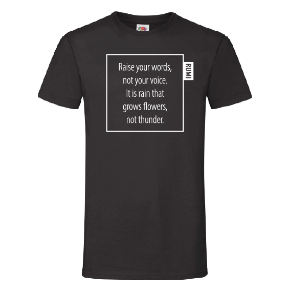 Quote t-shirts | Rain grows flowers