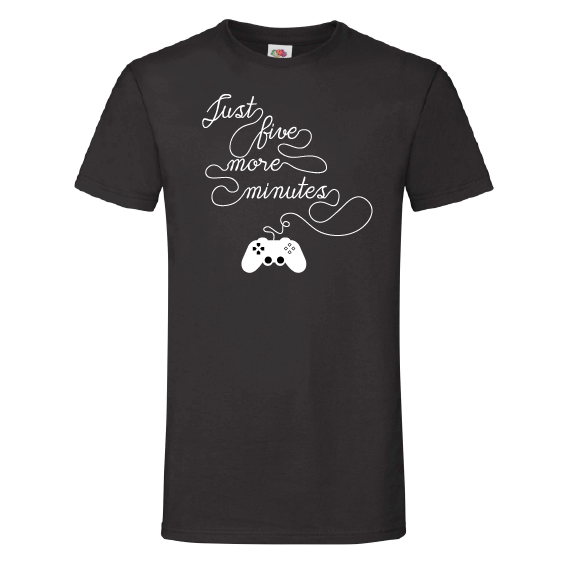 Game t-shirts | Just five more minutes