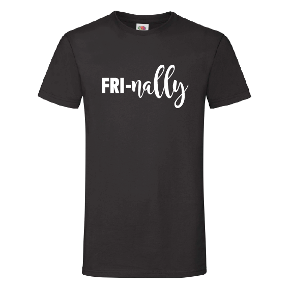 Dagen t-shirts | Fri-nally