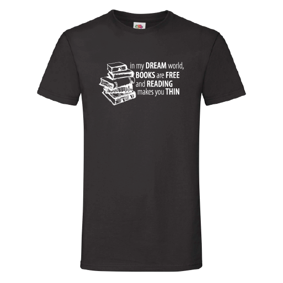 Boeken t-shirts | Books are free