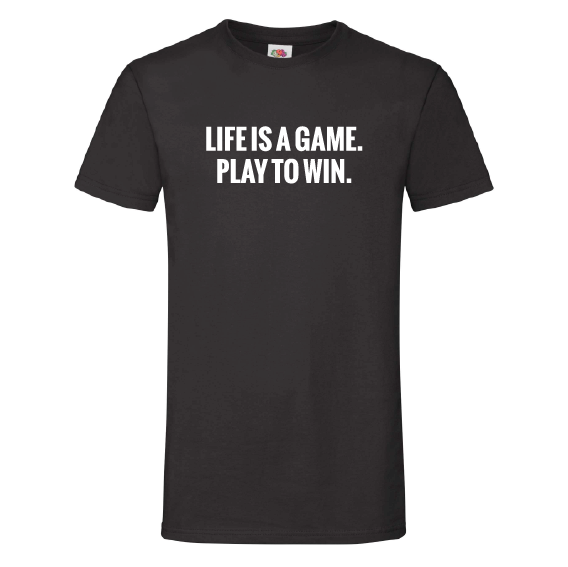 Game t-shirts | Life is a game