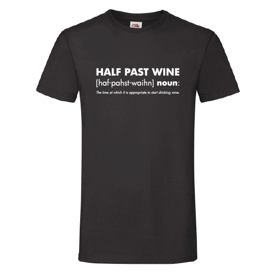 Wijn t-shirts | Half past wine