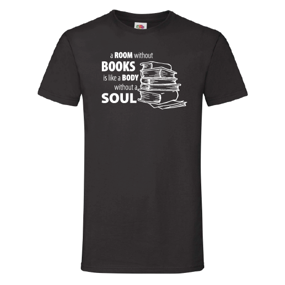 Boeken t-shirts | A room without books