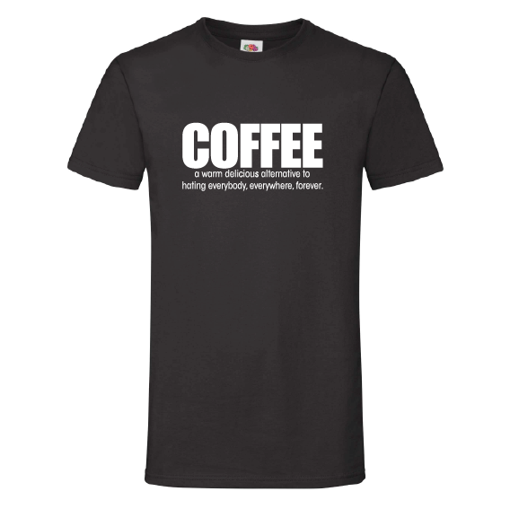 Koffie t-shirts | Coffee, a delicious alternative