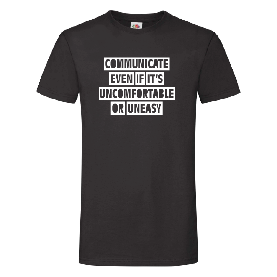 Quote t-shirts | Communicate