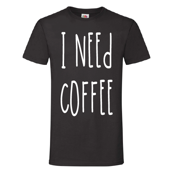 Koffie t-shirts | I need coffee