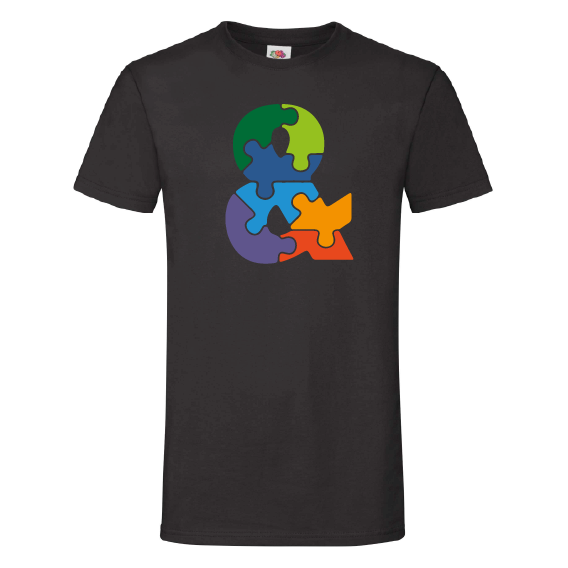 Ampersand t-shirt | Puzzled ampersand