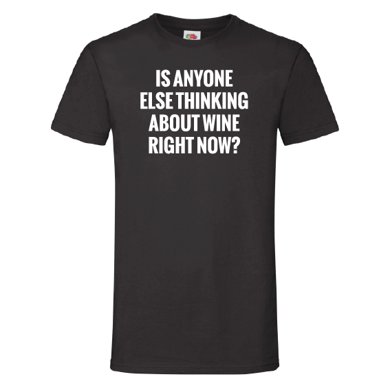 Wijn t-shirts | Thinking about wine