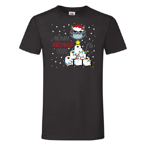 Kerst T-Shirts | Meowy Christmasks
